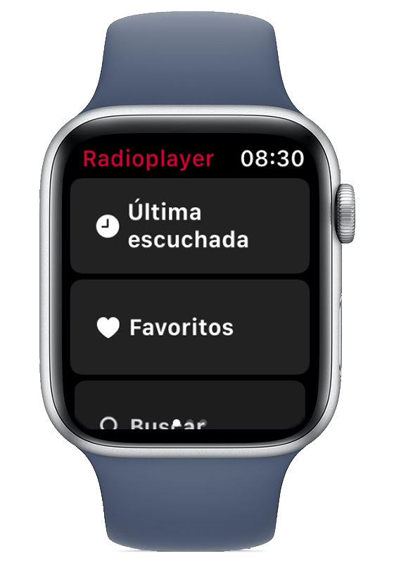 Radioplayer España para Apple Watch