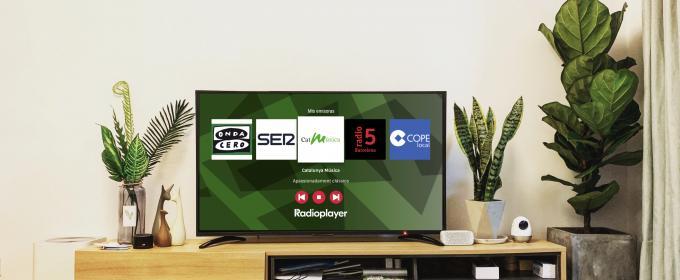 Radioplayer España en TV conectada