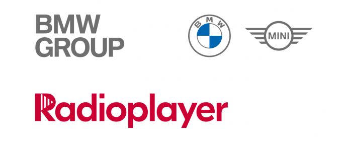 logo radioplayer y bmw